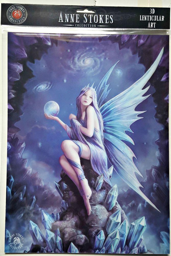 Brand New Licensed 3D Lenticular Art Anne Stokes Stargazer Print