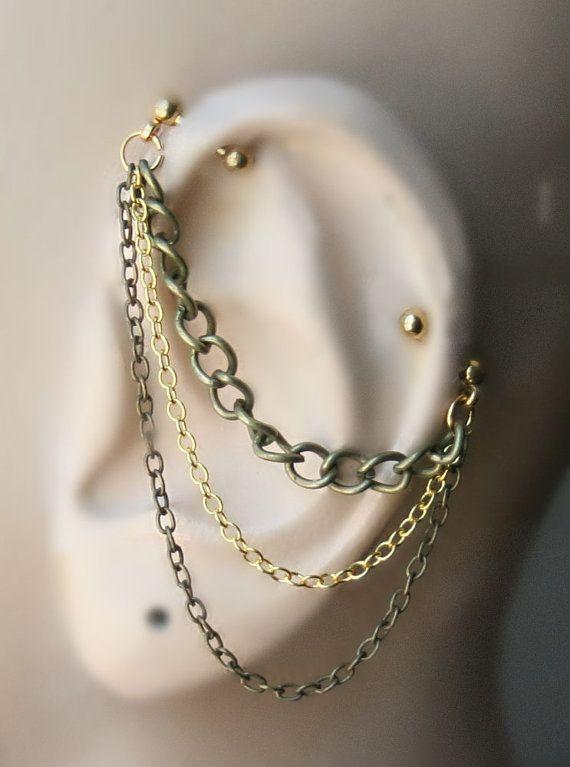 Industrial Barbell, Industrial piercing, Jewelry ... Ear Piercing Jewelry