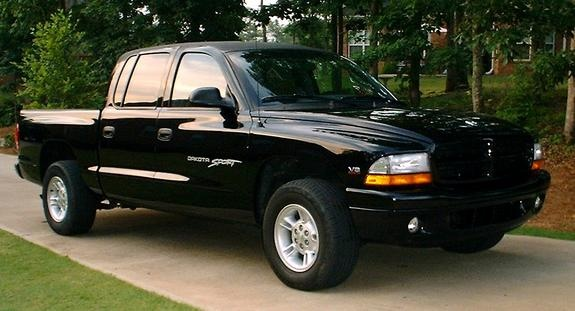 #11 - 2000 Dodge Dakota Quad Cab (2 Wheel Drive). I loved this truck. I always wanted a Dakota (preferably a 4x4... next time)