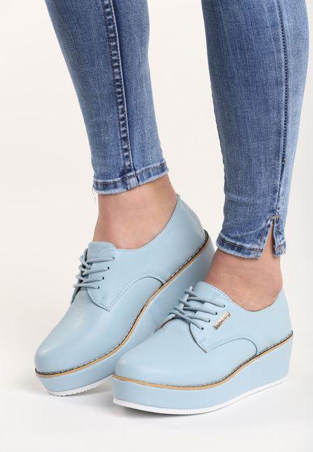 Pantofi cu platforma Kasumi Bleu