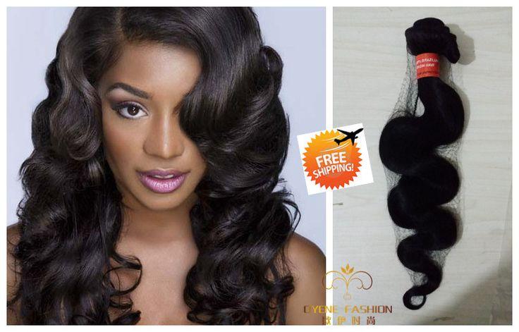 7А необработанные природные плетение волос королева Бразильские объемная волна 100 г/шт. естественный цвет можно покрасить бесплатная доставка из сша купить на AliExpress