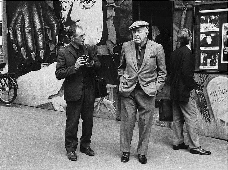 Robert Doisneau et Jacques Prévert en ballade dans Paris