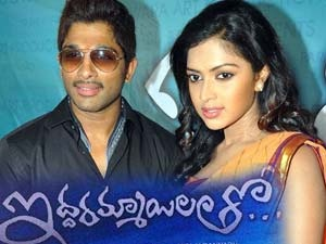 Allu Arjun's forthcoming Movie,Iddarammayilatho is presently being shot in spain.The Movie may be a story regarding associate degree Indian nestling falling taken with with 2 young ladies in an exceedingly foreign country. Puri Jagganath is extremely keen on the chemistry between the lead combine so the audience connect well to the picture.He had reportedly shot associate degree intense lip kiss scene between Bunny and Amala Paul the opposite day.