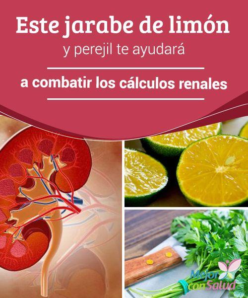 Este jarabe de limón y perejil te ayudará a combatir los cálculos renales  Una gran parte de los residuos del organismo humano son procesados por los riñones para ser excretados a través de la orina.