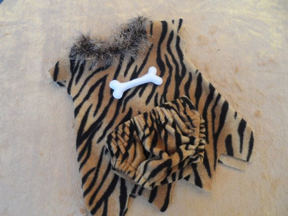 Baby caveman outfit ready to ship halloween by ThemeCostumesUK
