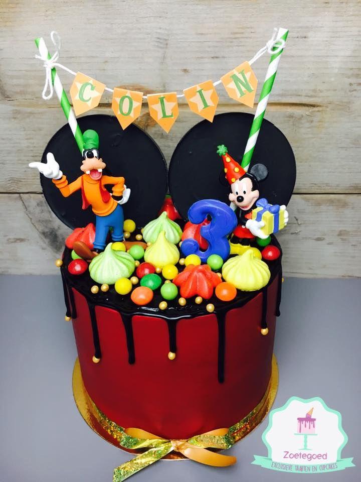Mickey Mouse Disney Drip Cake