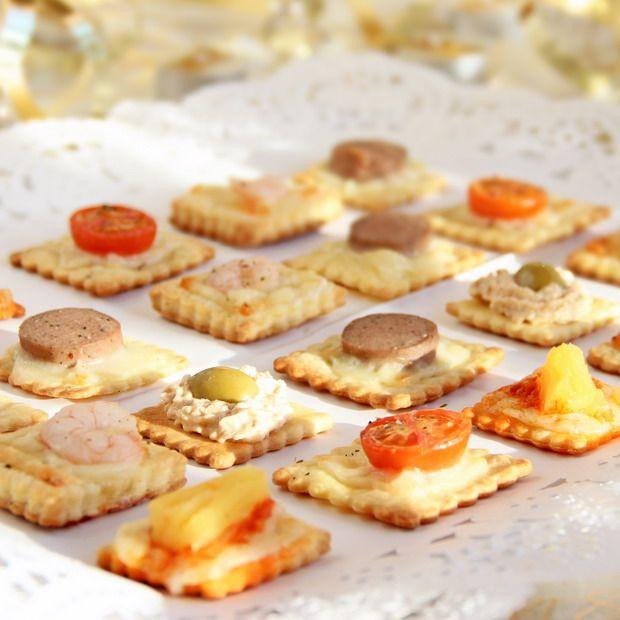 Canap s sin pan buffet pinterest navidad recetas for Canape de pate con cebolla caramelizada