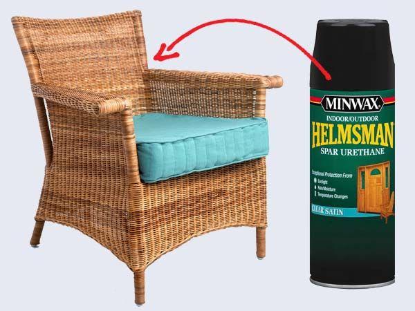 Best 25 Indoor Wicker Furniture Ideas On Brown. Diy Painting Plastic Wicker