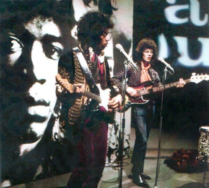 The Jimi Hendrix Experience (Jimi, Noel Redding)