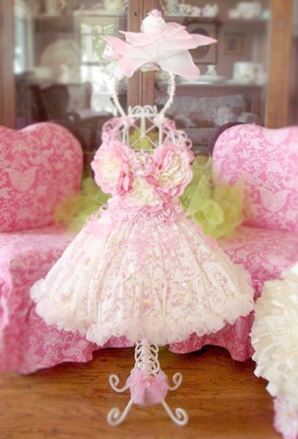 a photo prop, or decor for a little girls room.......Truly, I'm questioning putting something this lovely in any little kids room!: Tutu, Daughters Room