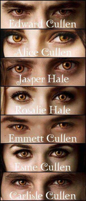 The Cullen coven- more like a family than most actual families tbh.