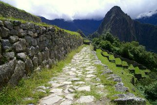 The Inca had one of the largest road systems of their time. Inca roads covered thousands of miles. The Incas also had advanced irrigation systems.