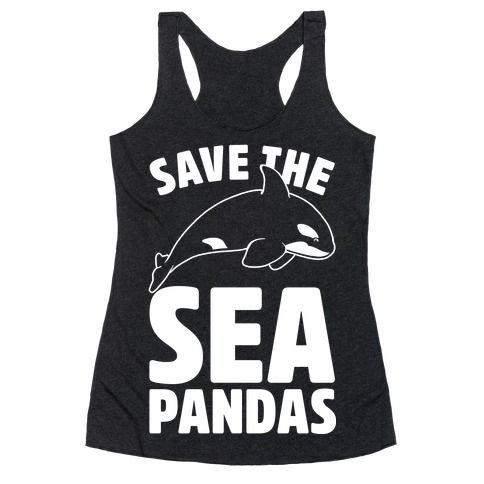 This funny orca shirt is great for all those who love killer whales, or more adorably, sea pandas, and wanna destroy sea world and Save The Sea Pandas, please! This cute nautical shirt is great for fans of killer whale shirts, orca shirts, save the orcas, and whale jokes.