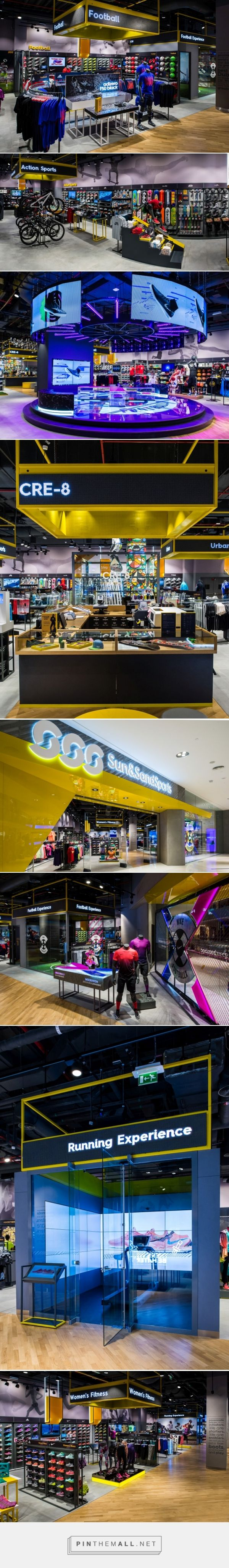 Sun & Sand Sports Store by Green Room, Dubai – UAE » Retail Design Blog... - a grouped images picture - Pin Them All