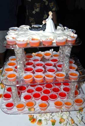 jello shot display....hahahaha -that is too funny!!!! Vince Vaughn and Owen Wilson would be all over this!!!!!