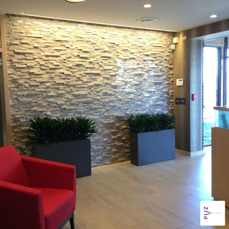 Lobby Accent Wall Corporate Messaging: Lobby And Reception Area €�A Breath Of Fresh