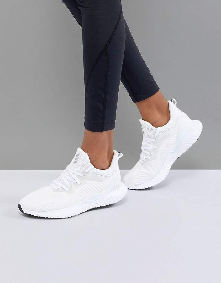 Adidas adidas alphabounce beyond in white | Adidas white