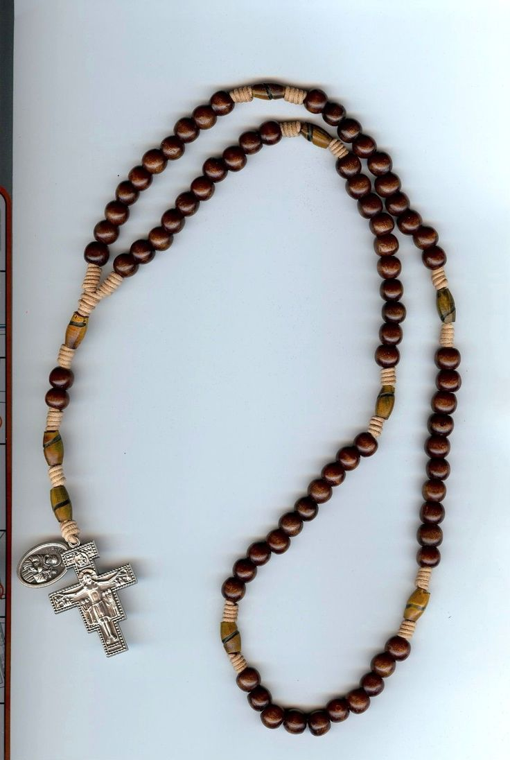 how to make a franciscan crown rosary