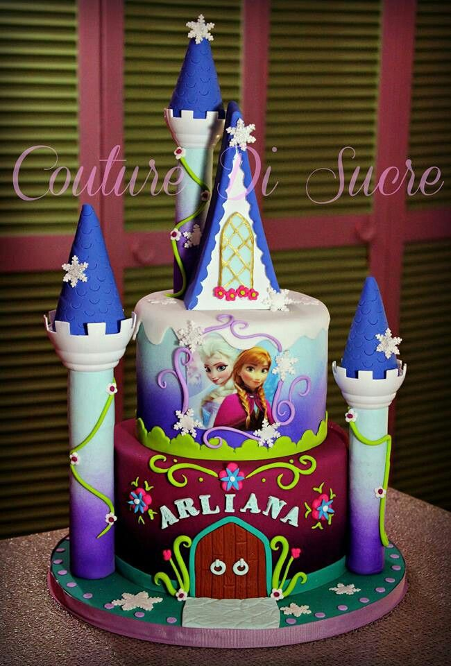 Frozen cake: another idea for those castle pieces