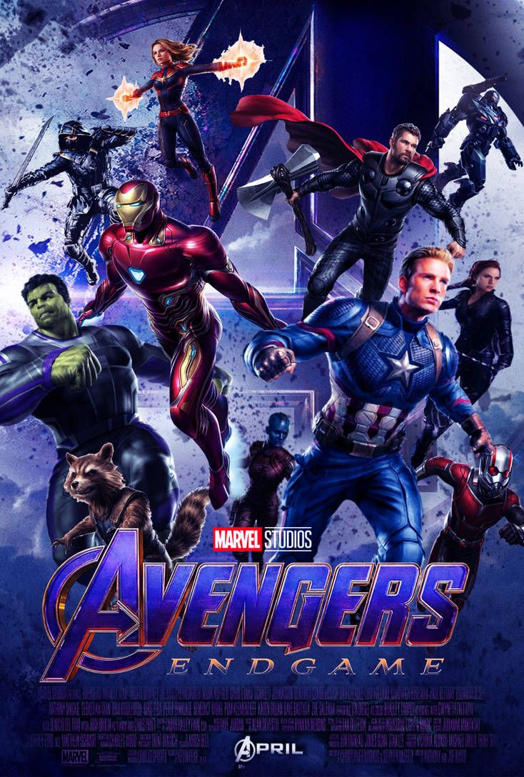 Avengers Endgame Poster Concept By The Dark Mamba 995 Home