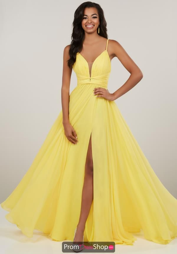 d3efaa20518 Striking Panoply prom dress 14912 will make a bold statement at your event.  This dress highlights a plunging neckline with thin straps along with  detailed ...