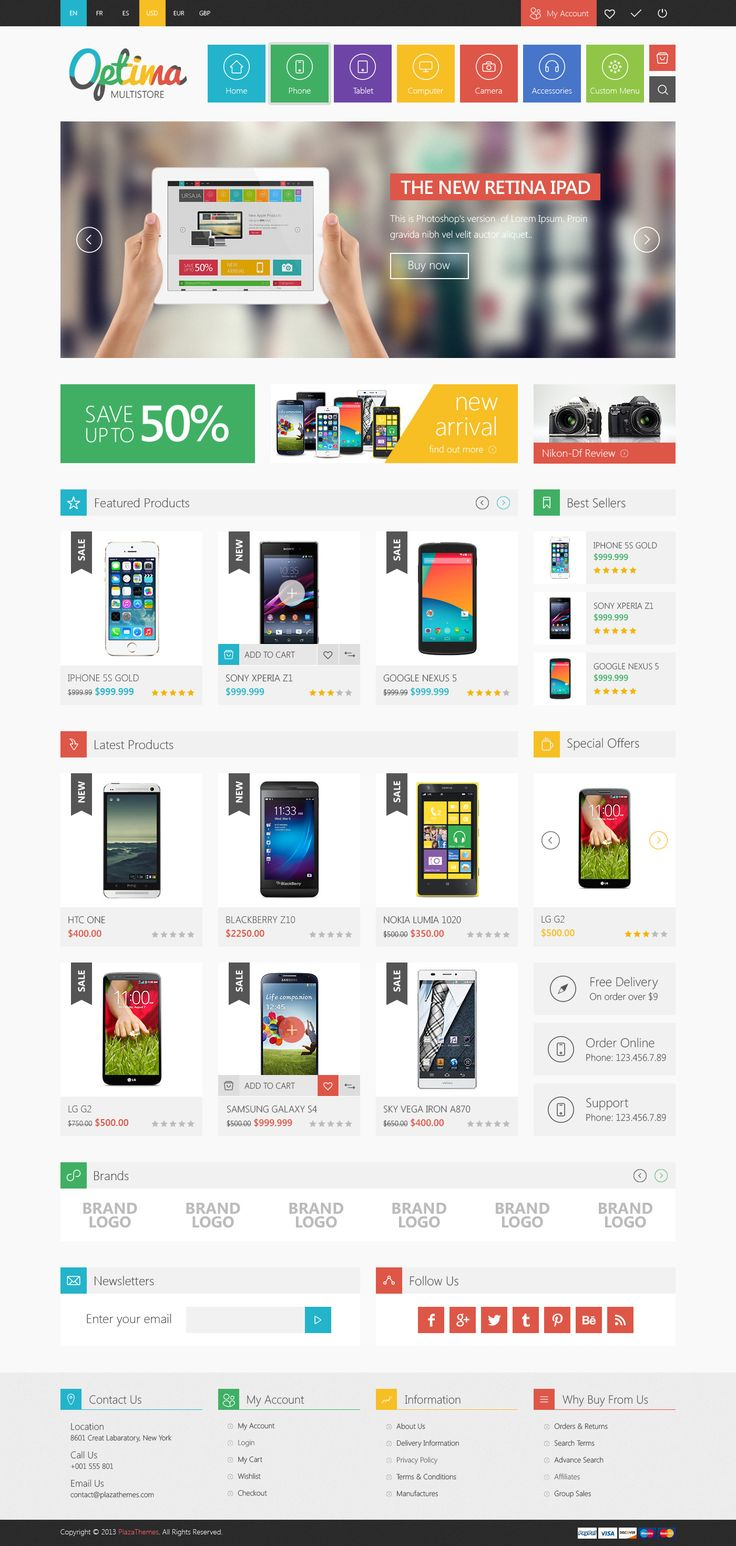 58 best images about Responsive Magento Themes on Pinterest