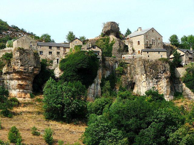 Le Val de Cantobre in Aveyron, France