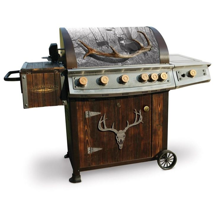 Teton Grill Co. Heritage Whitetail Gas Grill