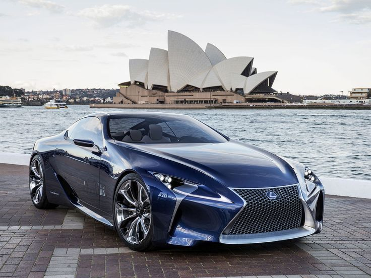 Lexus LF-LC Blue Concept, front 3/4