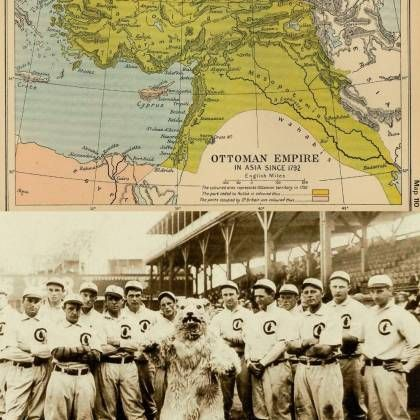 The Ottoman Empire Existed the Last Time the Chicago Cubs Won the World Series (1908)