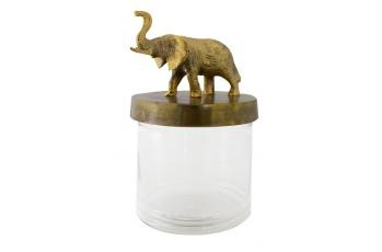 Elephant Glass Jar available at meizai