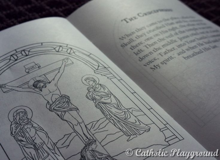 This Coloring Book Is Perfect For Holy Week Print Yours Today With Pictures