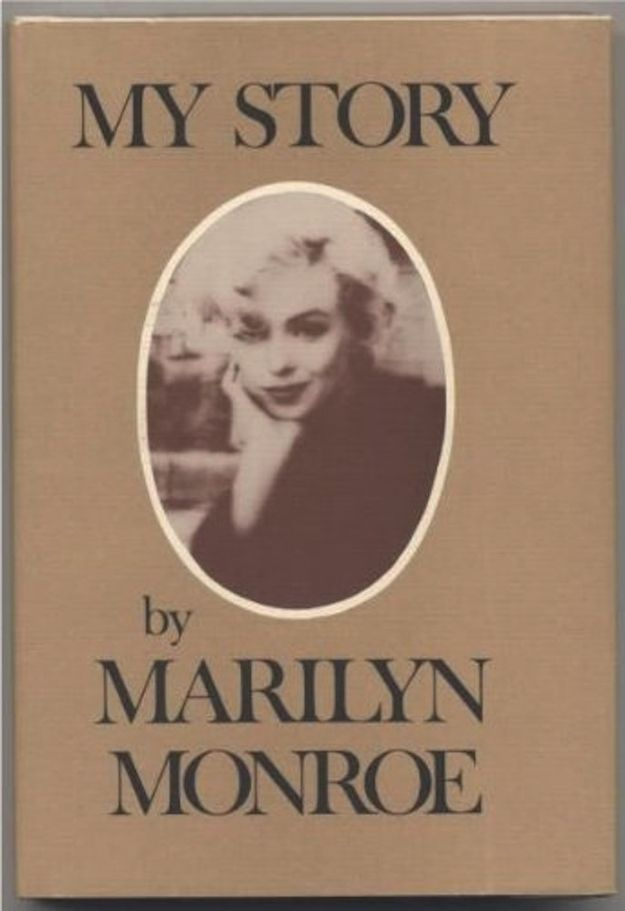 vintage everyday: Marilyn Monroe Facts: Things You Might Not Know About the Hollywood Icon - At the height of her fame, Monroe wrote her autobiography My Story (with help from her friend screenwriter Ben Hecht). The book was not published until a decade after her death.