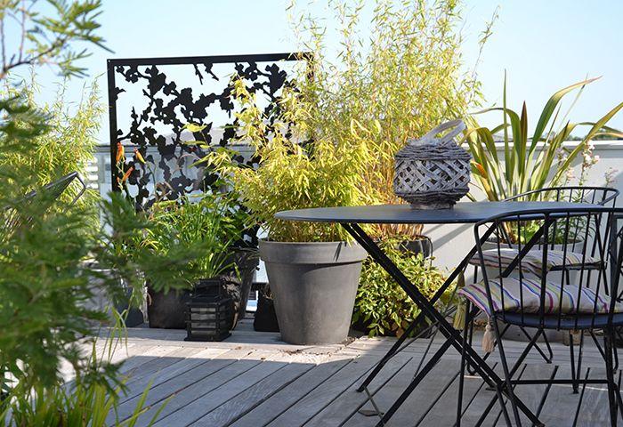 Brise Vue De Terrasse Jardiniere En Bois Brise Vue Terrasse Toit