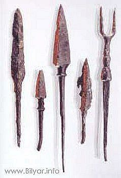 Вооружение булгар – 204 photos: Bulgarian arrowheads from the excavations of Bilyara Volga Bulgaria, Bilyar XI - the beginning of the XII centuries.