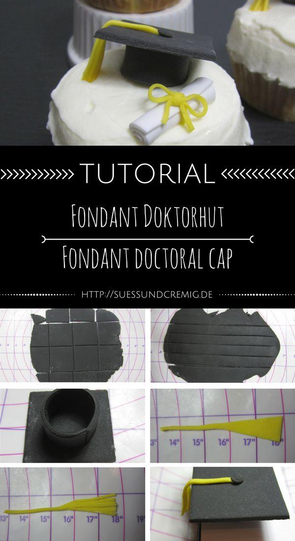 [DIY/Tutorial] Mortarboard cupcakes