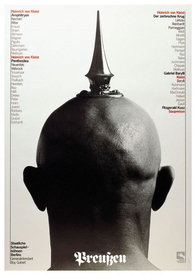 Holger Matthies has designed more than 1000 posters over the course of four decades, making him one of the world's most prolific poster artists. He is best known for his designs for theatre and opera productions, exhibitions, concerts, and political satire shows.