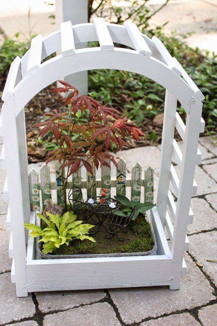 best Fairy Garden images on Pinterest Miniature gardens