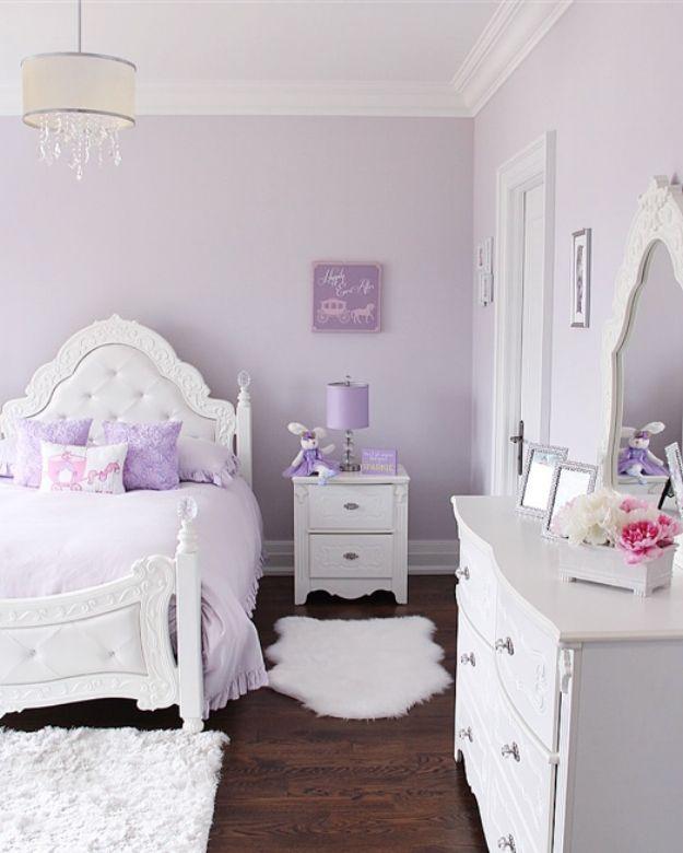 Lovely Lavender Fairytale Mädchen Schlafzimmer