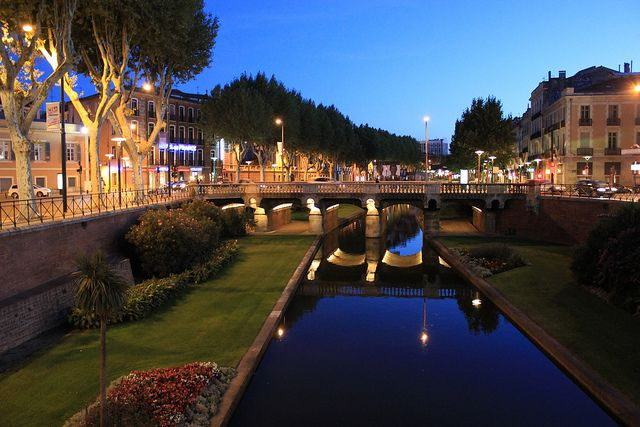 Perpignan, France - the beautiful southern French town