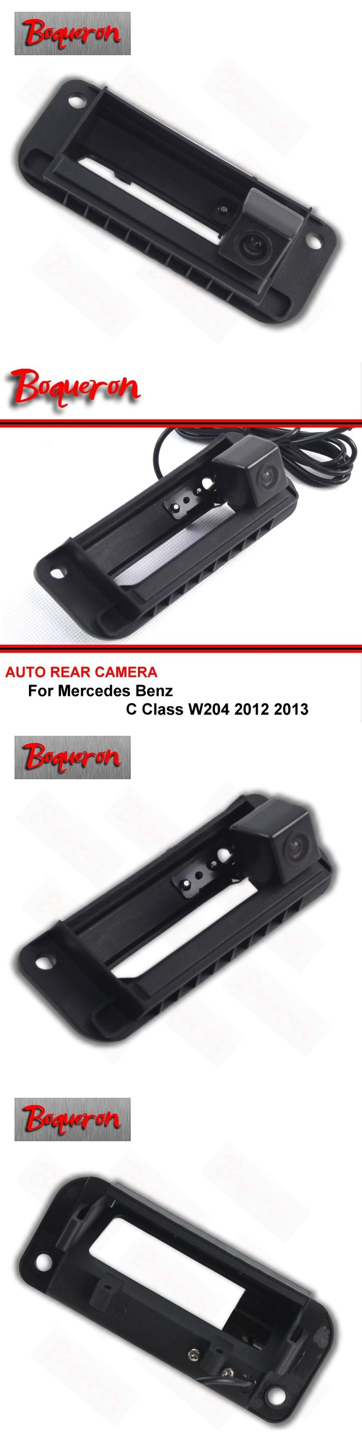 For Mercedes Benz C Class W204 2012 2013 HD CCD Trunk handle Reversing Camera Car Back up Parking Camera Rear View Camera