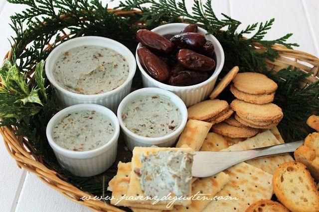 Crema de untar de dátiles y queso azul