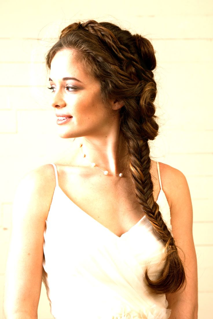 Hair: Michelle McMillan  #halfup #soft #boho #braids#romantic #waves  #weddinghair #bridalhairstyles #bridalhairstylist #updo #hairstyle #SXSW www.glitterknockout.com