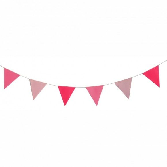 Pink Bunting by My Little Day at www.theoriginalpartybagcompany.co.uk