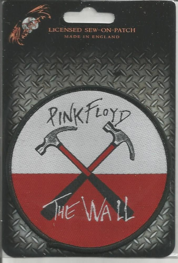 PINK FLOYD The Wall Hammers Woven Patch Sew On Official Band Merch