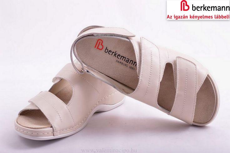 Nagyon kényelmes női Berkemann szandál, kivehető talpbetéttel, a Valentina Cipőboltokban és Webáruházunkban!  http://valentinacipo.hu/berkemann/noi/bezs/szandal/135998917  #berkemann #női_szandál #berkemann_szandál #Valentina_cipőboltok
