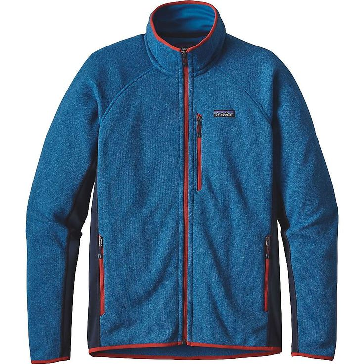 Patagonia Men's Performance Better Sweater Jacket - XS - Bandana Blue
