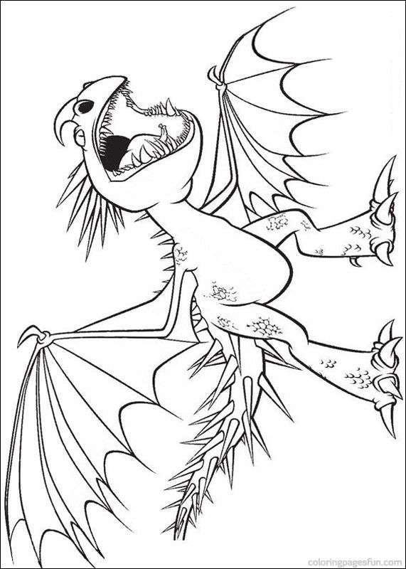 how to train your dragon coloring pages 2 - Dragon Printable Coloring Pages 2