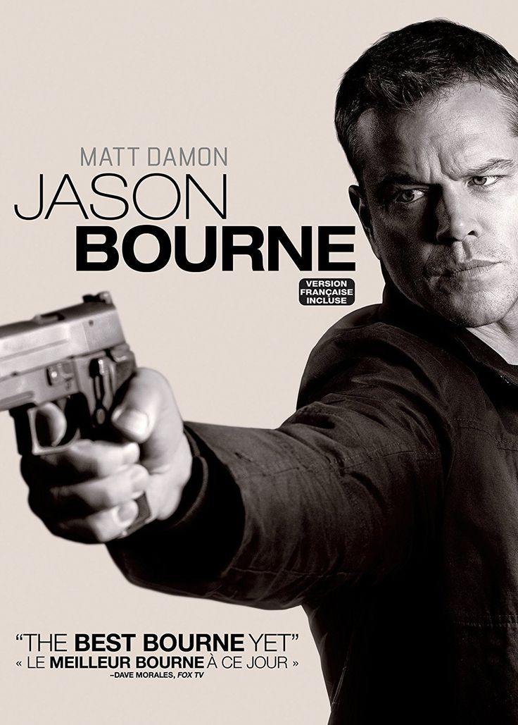 Jason Bourne (2016) ... Bourne (Matt Damon) remains on the run from CIA hit squads as he tries to uncover hidden truths about his father.  (12-Feb-2017)