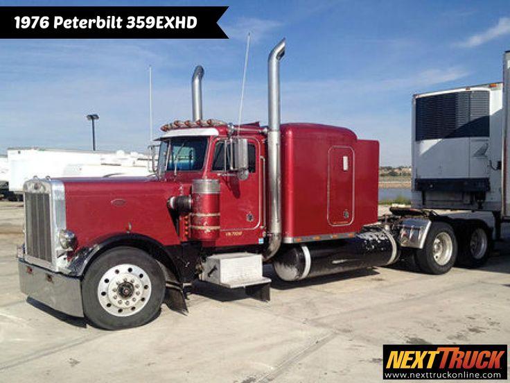 #ThrowbackThursday Check out this 1976 #Peterbilt 359EXHD #Sleeper! View more Peterbilt #Trucks at http://www.nexttruckonline.com/trucks-for-sale/by-make/Peterbilt #Trucking #SemiTrucks